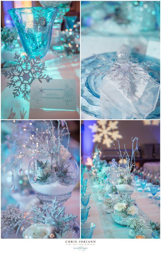decoracion mesa frozen